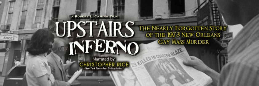 2nd Thursdays Cinema — October 13 @ 7:30 PM — UPSTAIRS INFERNO
